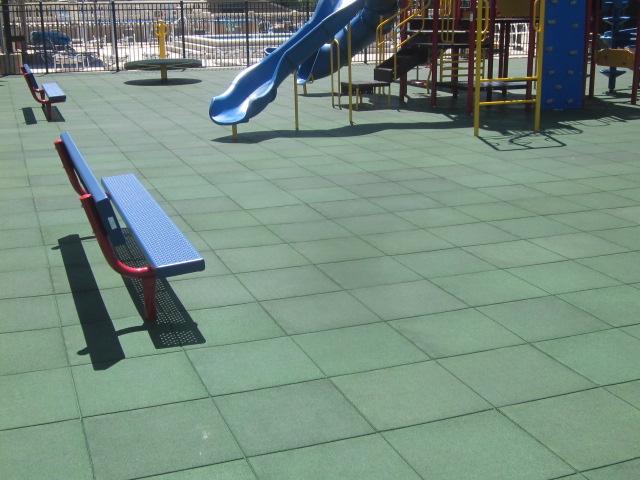плитка для детских площадок